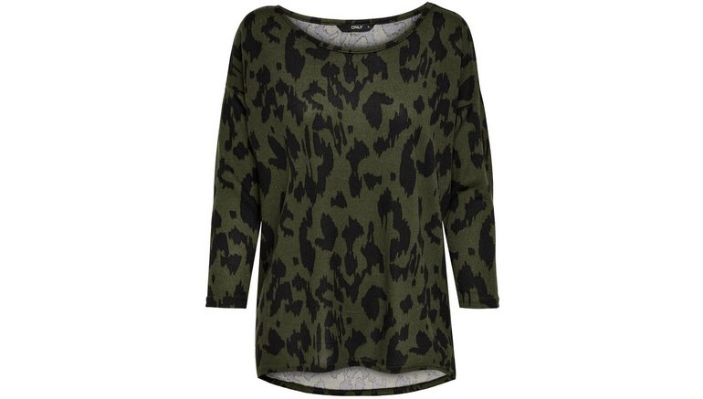 Only shirt met 3/4-mouwen ONLELCOS