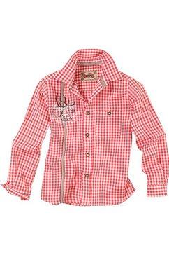stockerpoint folklore-overhemd voor kinderen rood