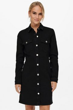 only jeansjurk onljamie ls life dnm dress zwart