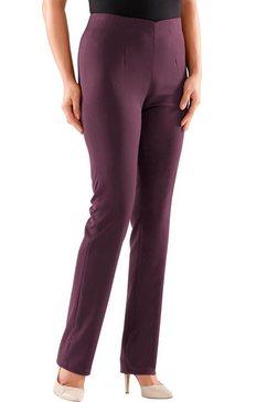 classic basics broek in vormvaste stretchkwaliteit rood