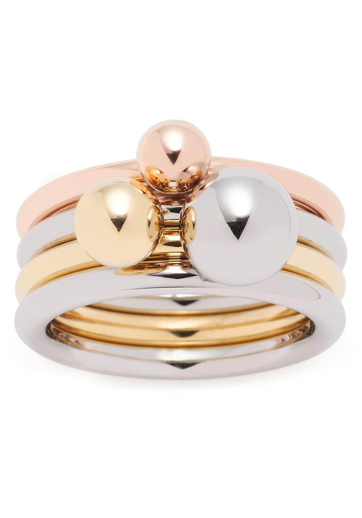 LEONARDO ringenset Set/3 ring Sfera, 019648, 019649, 019650 (set, 3-delig) bij OTTO online kopen