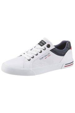 tom tailor sneakers met lichte perforatie wit