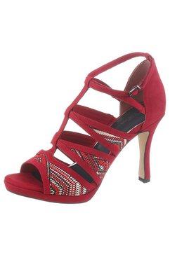 tamaris highheel sandaaltjes »myggia« rood
