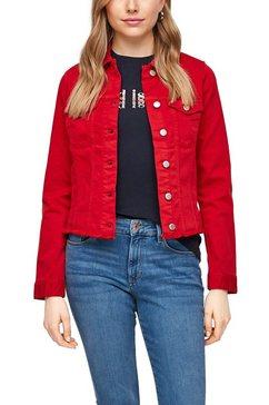 s.oliver jeansjack rood