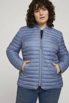 tom tailor my true me gewatteerde jas blauw