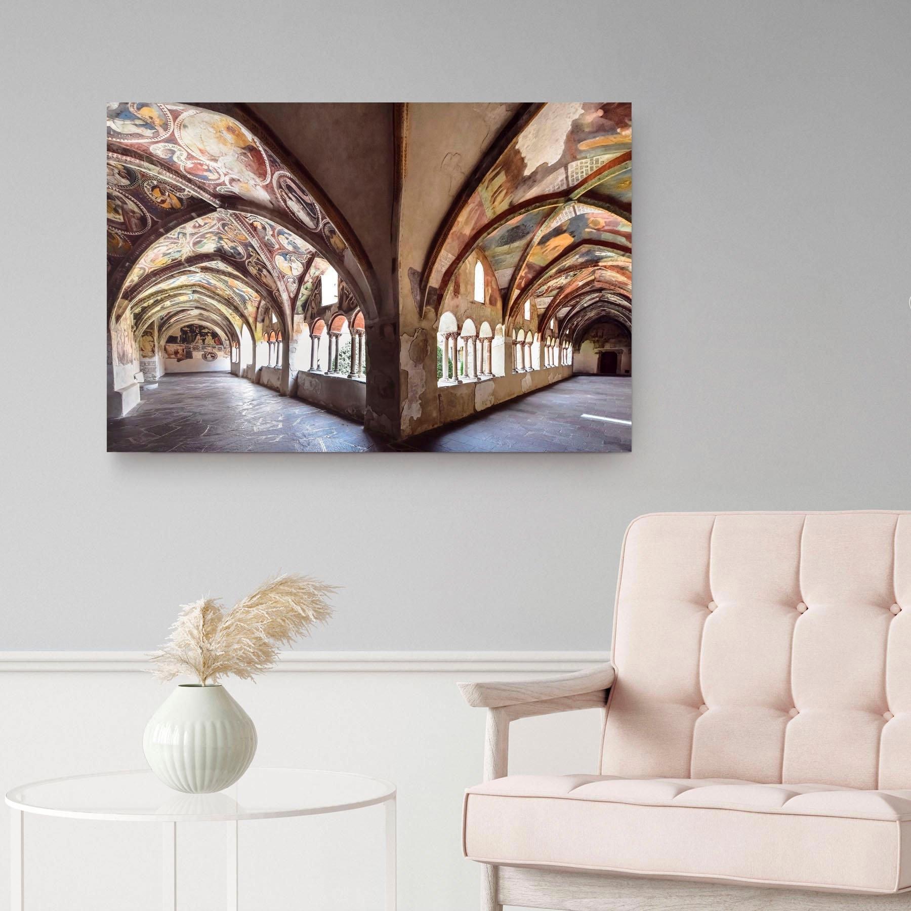 Reinders! artprint op hout Decoratief paneel 60x90 Heavenly Hall voordelig en veilig online kopen