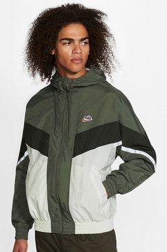 nike sportswear windbreaker men's jacket groen