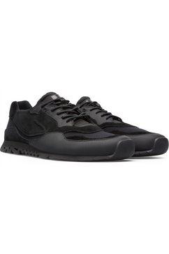 camper sneakers ntho in sportieve look zwart