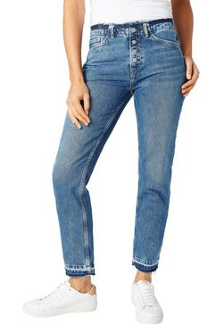pepe jeans 7-8 jeans »mary revive« blauw