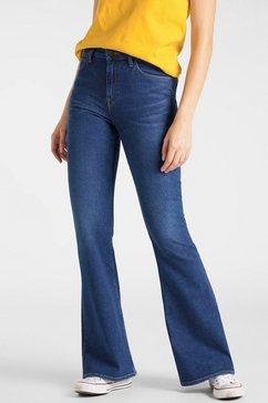 lee wijd uitlopende jeans »breese« blauw