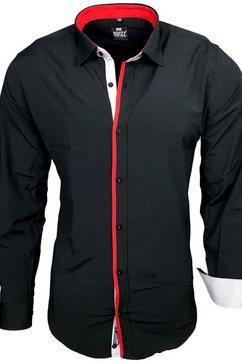 rusty neal hemd »a1-rn-70« zwart