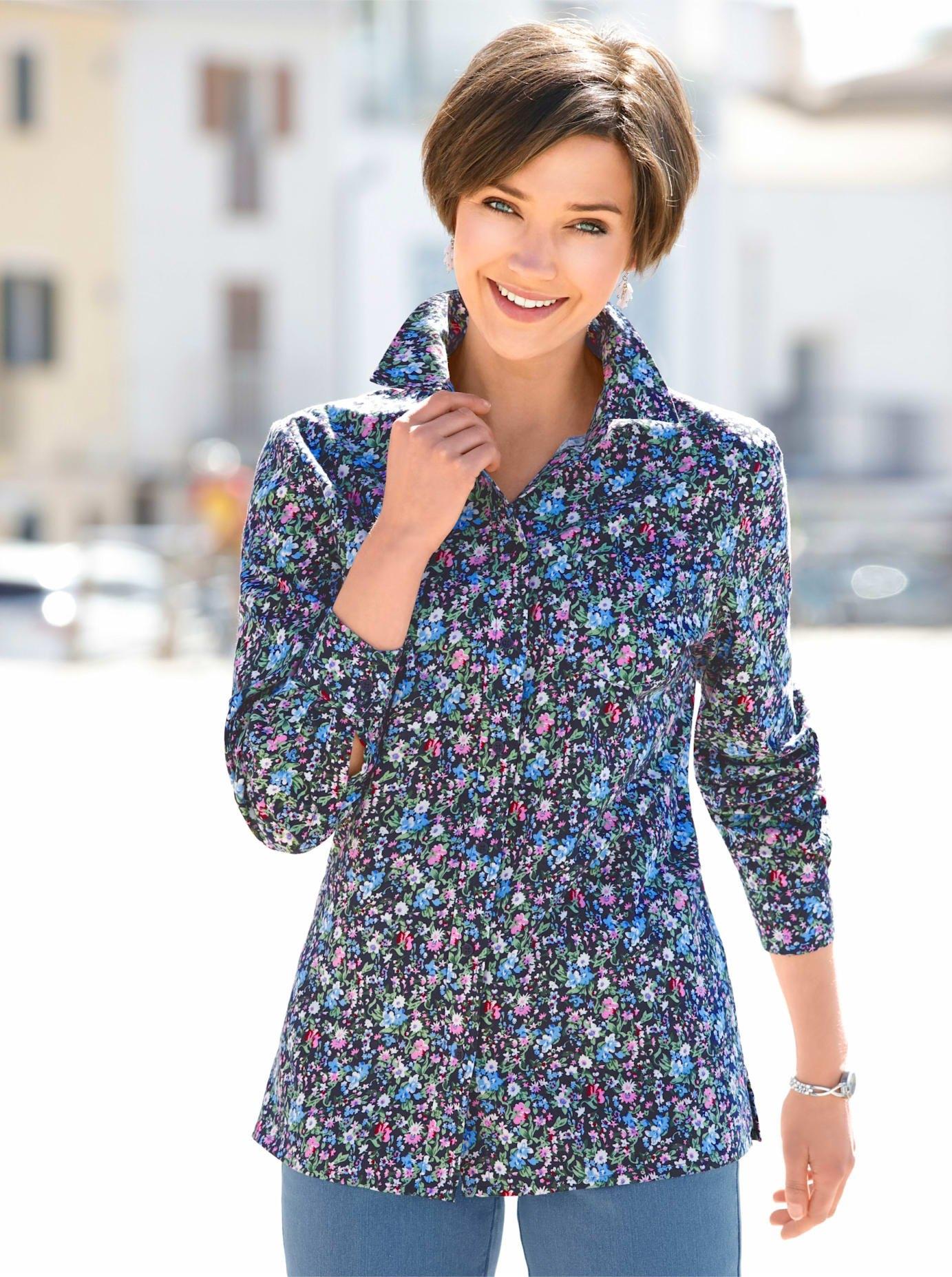 Classic Basics Gedessineerde blouse in de webshop van OTTO kopen