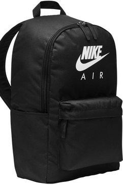 nike sportswear sportrugzak nike air heritage rugzak 2.0 zwart
