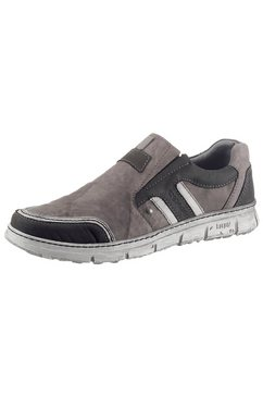 kacper instappers met een praktisch, verwisselbaar voetbed grijs