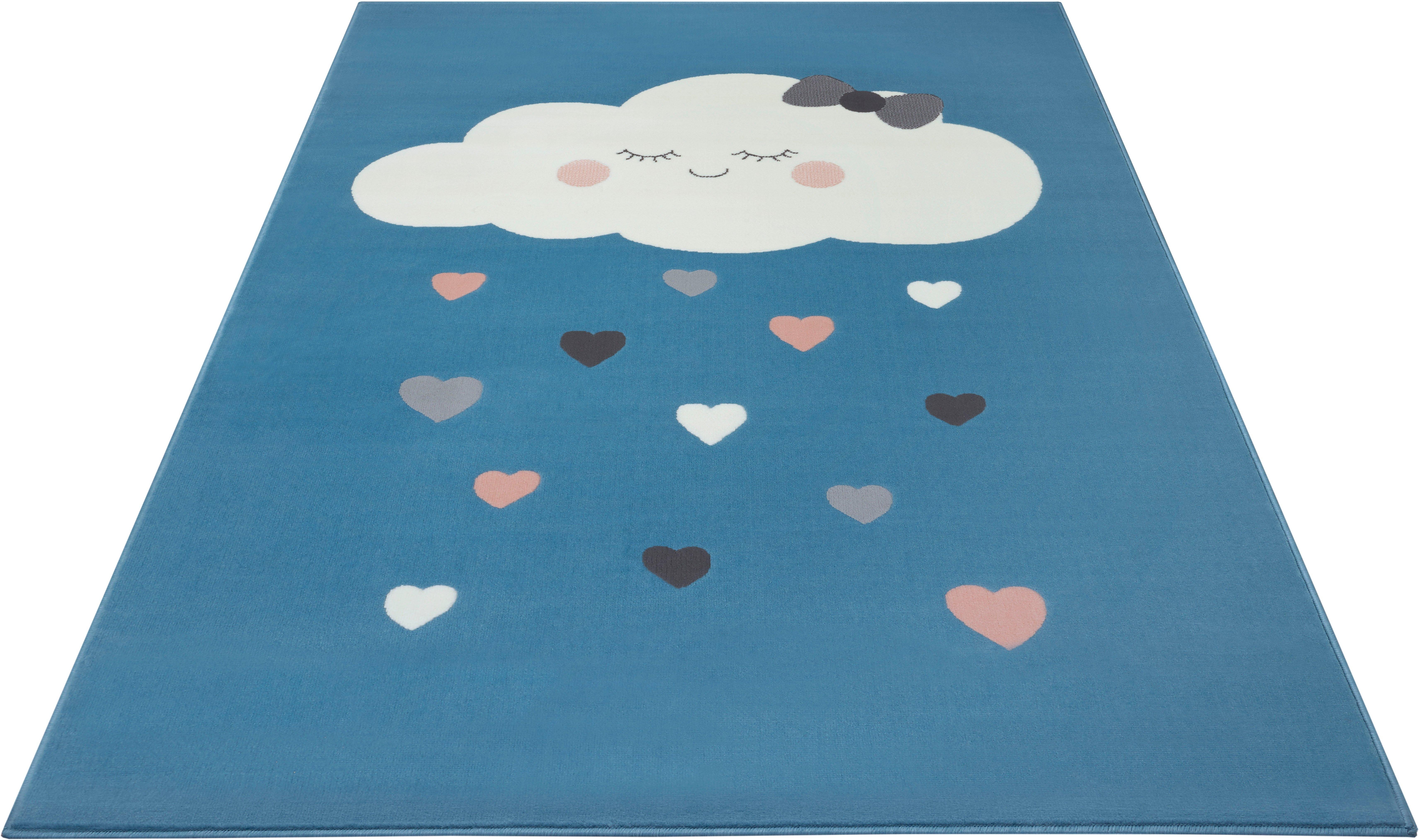 HANSE Home vloerkleed voor de kinderkamer »Lovely Sky« - gratis ruilen op otto.nl
