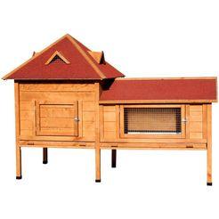 dobar »residenz xxl« hok voor kleine huisdieren bruin