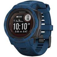 garmin smartwatch instinct solar blauw