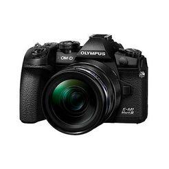olympus systeemcamera e-m1 mark iii 1240mm kit blk-blk zwart