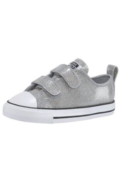 converse sneakers »chuck taylor all star 2v coated gli« zilver
