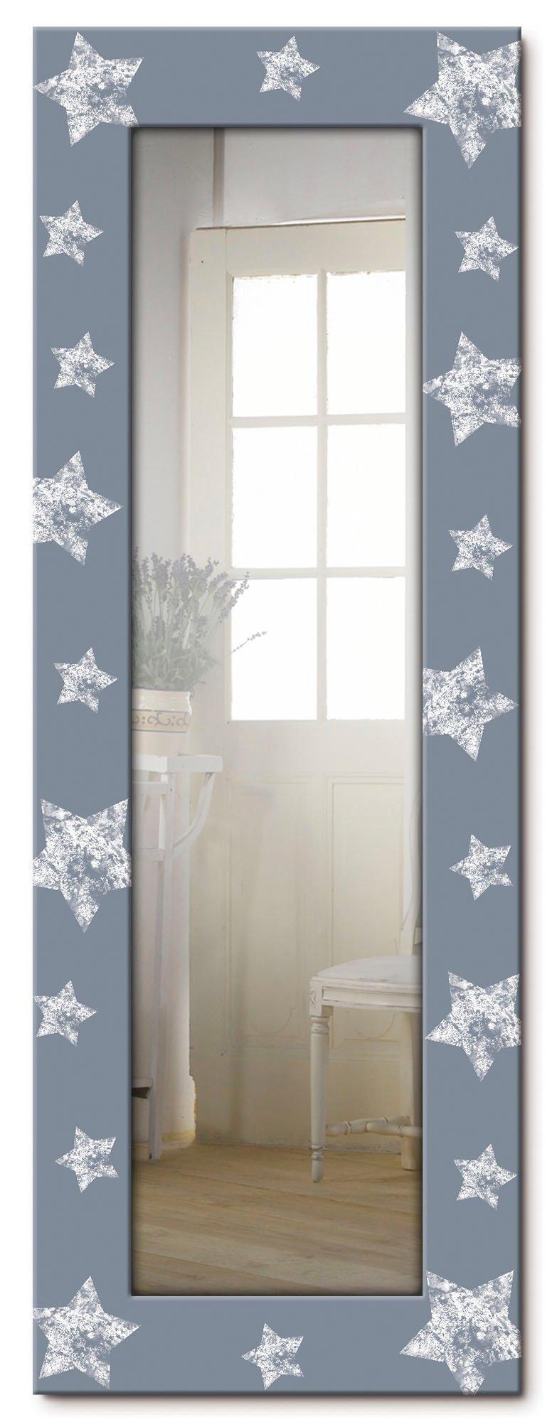 Artland wandspiegel Ster ingelijste spiegel voor het hele lichaam met motiefrand, geschikt voor kleine, smalle hal, halspiegel, mirror spiegel omrand om op te hangen voordelig en veilig online kopen