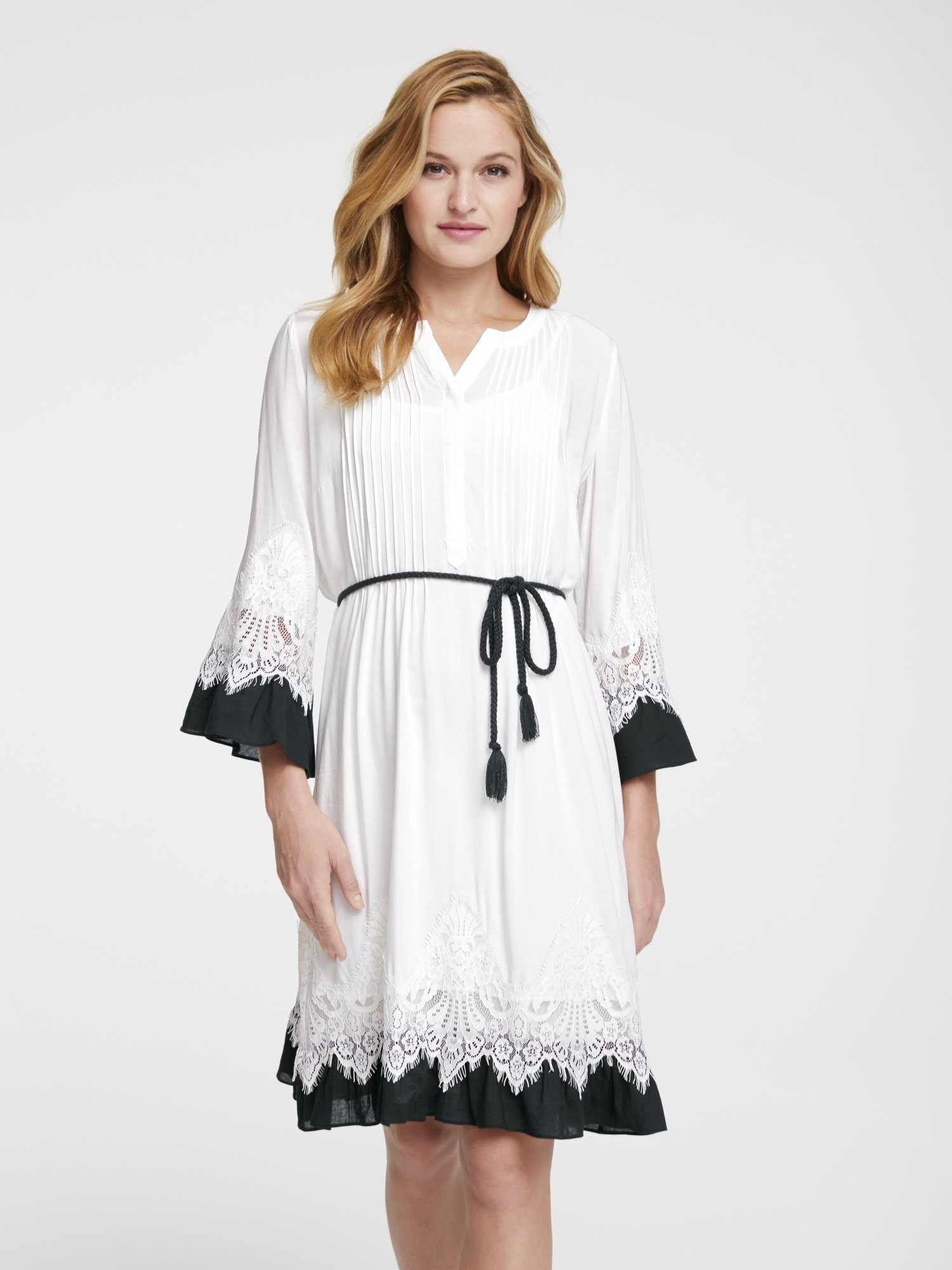 LINEA TESINI by Heine Kanten jurk bestellen: 30 dagen bedenktijd