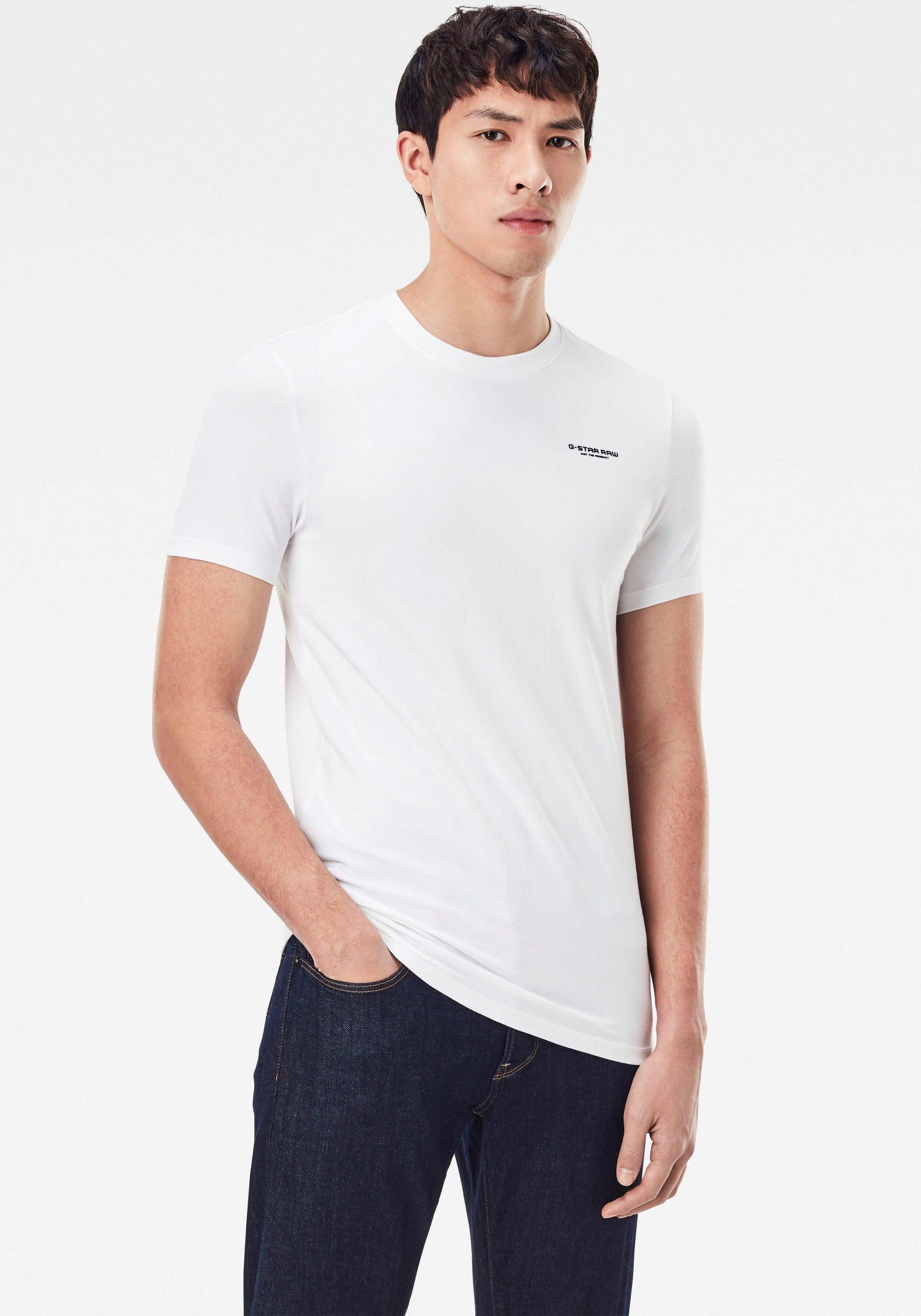 Op zoek naar een G-Star RAW Shirt met ronde hals Slim Base r T-Shirt? Koop online bij OTTO