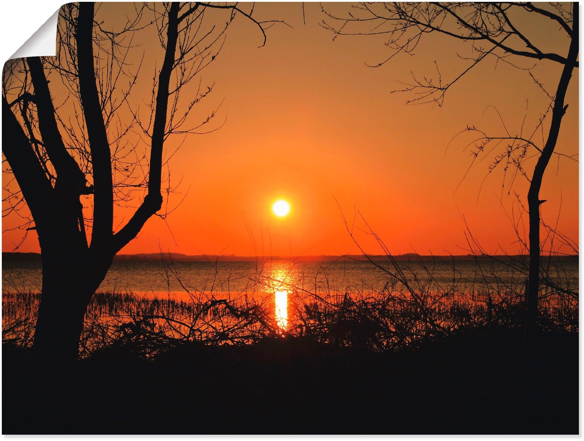 Artland artprint »Sonnenuntergang« nu online kopen bij OTTO