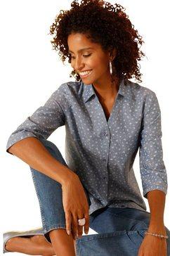 classic basics jeansblouse blauw