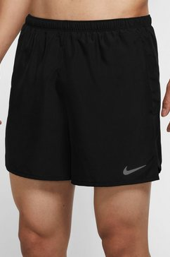 "nike runningshort »nike challenger men's 5"" brieflined running shorts« zwart"
