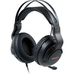 roccat gaming-headset elo 7.1 usb - surround sound rgb pc zwart