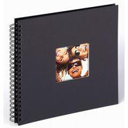walther fotoalbum spiraalalbum fun (1 stuk) zwart