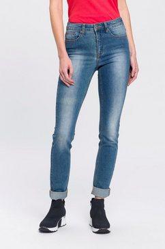 arizona skinny fit jeans shaping high waist blauw