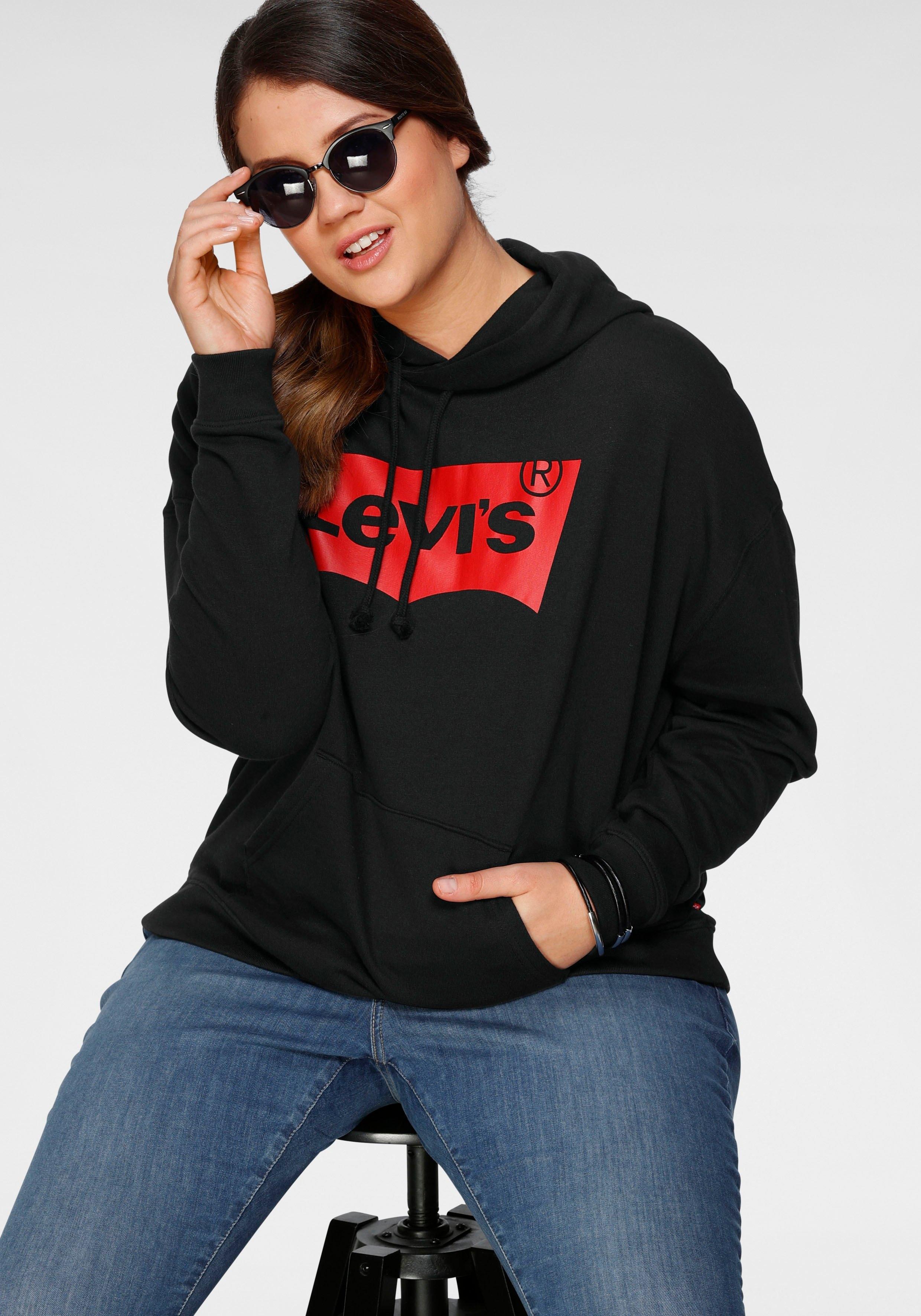 Levi's Plus Levi's® Plus hoodie Plus Graphic Batwing Hoodie Grote logoprint bestellen: 30 dagen bedenktijd