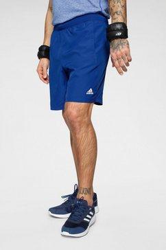 adidas performance functionele short »4k_sportlevel z woven 8« blauw