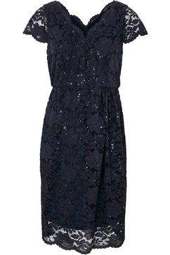 ashley brooke by heine kanten jurk blauw