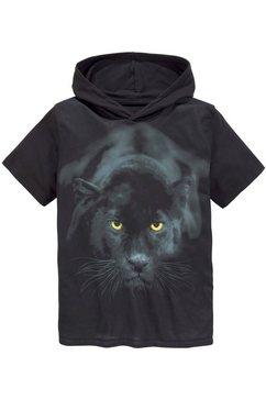 kidsworld t-shirt »panther« zwart