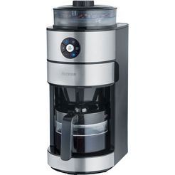 severin »ka 4811« koffiezetapparaat met maalwerk zilver