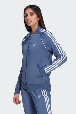 adidas originals trainingsjack primeblue sst originals jack blauw