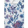 cecil shirt met v-hals met bloemmotief