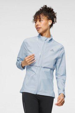 adidas performance runningjack adidas own the run soft shell jacket women blauw