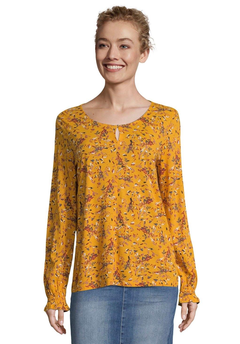 Tom Tailor shirtblouse met prachtige, romantische bloemenprint all-over - gratis ruilen op otto.nl