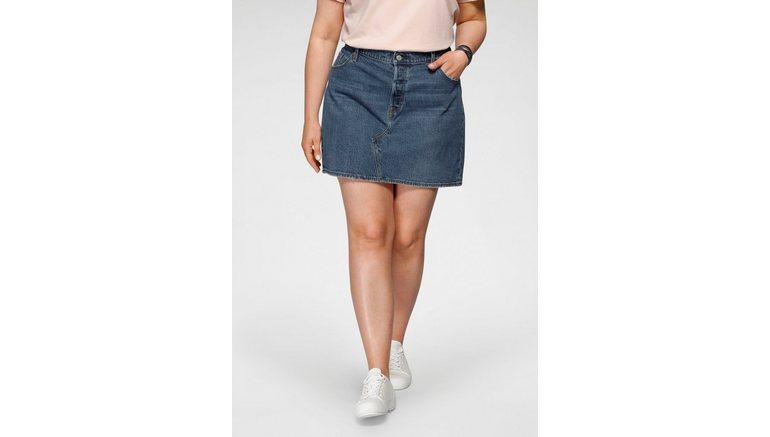Levi's® Plus jeansrok Deconstructed Skirt