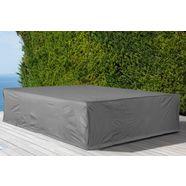 konifera beschermhoes »keros premium«, fuer ein loungeset, (l-b-h): ca. 223x223x75 cm grijs