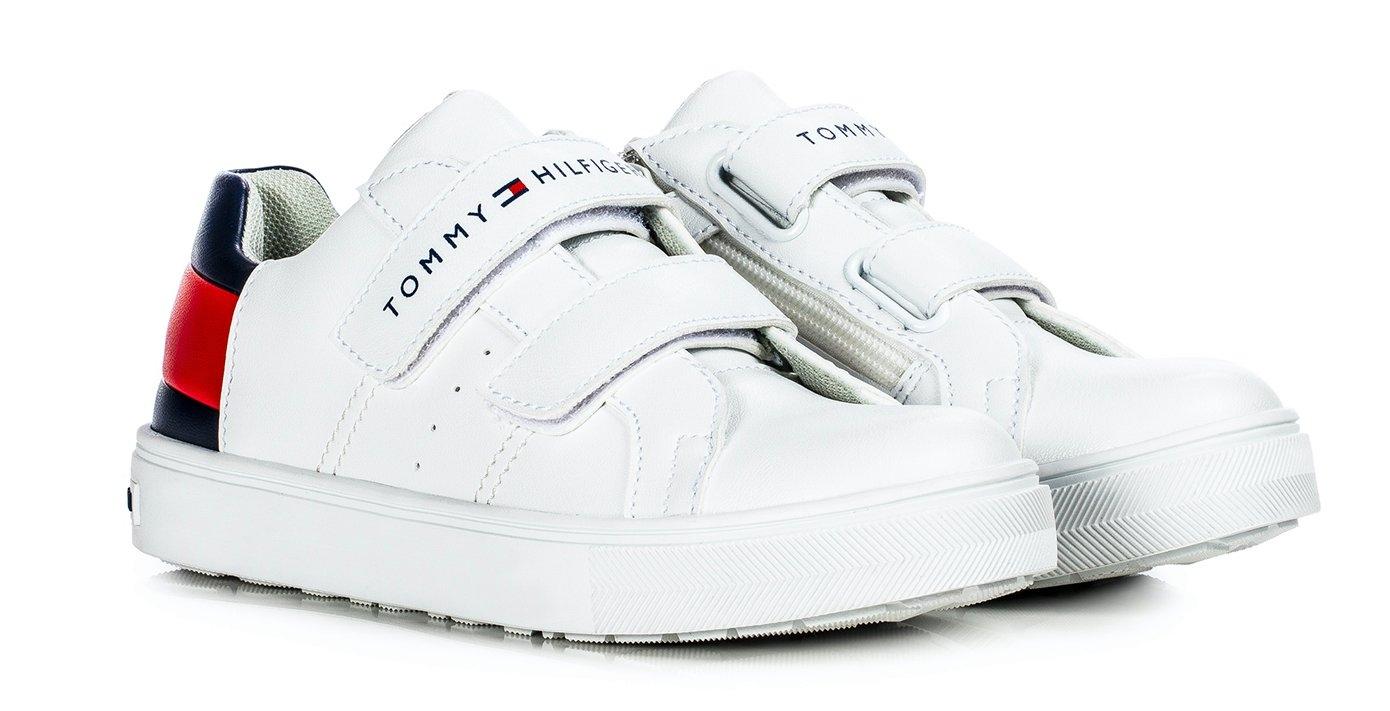 Tommy Hilfiger sneakers Kobe met een dubbele klittenbandsluiting - gratis ruilen op otto.nl