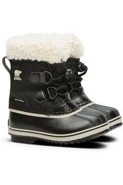 sorel outdoor winterlaarzen yoot pac™ nylon zwart