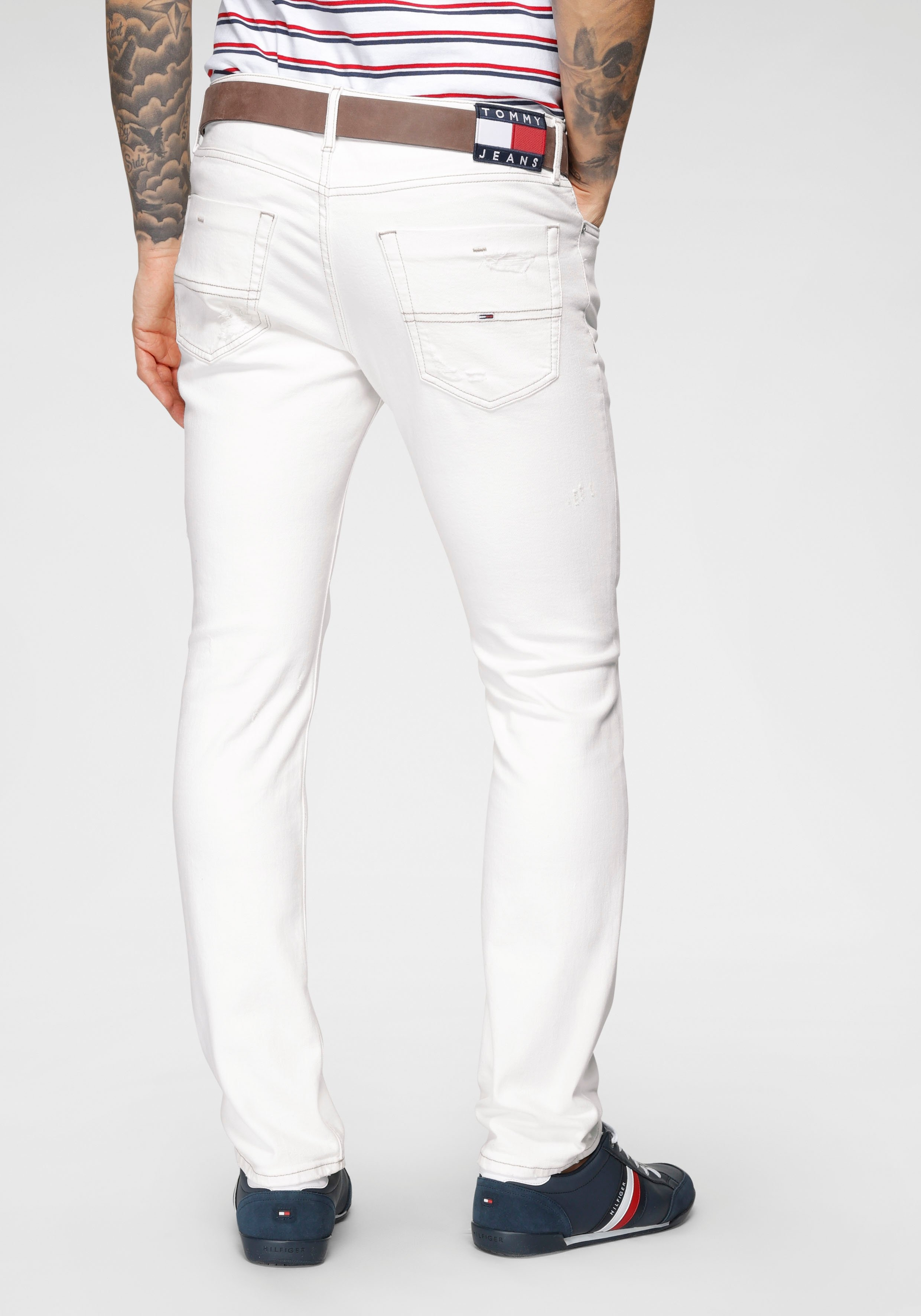 TOMMY JEANS slim fit jeans »SCANTON SLIM« online kopen op otto.nl