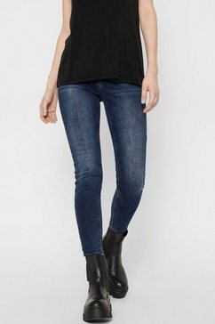 pieces skinny fit jeans pcdelly blauw