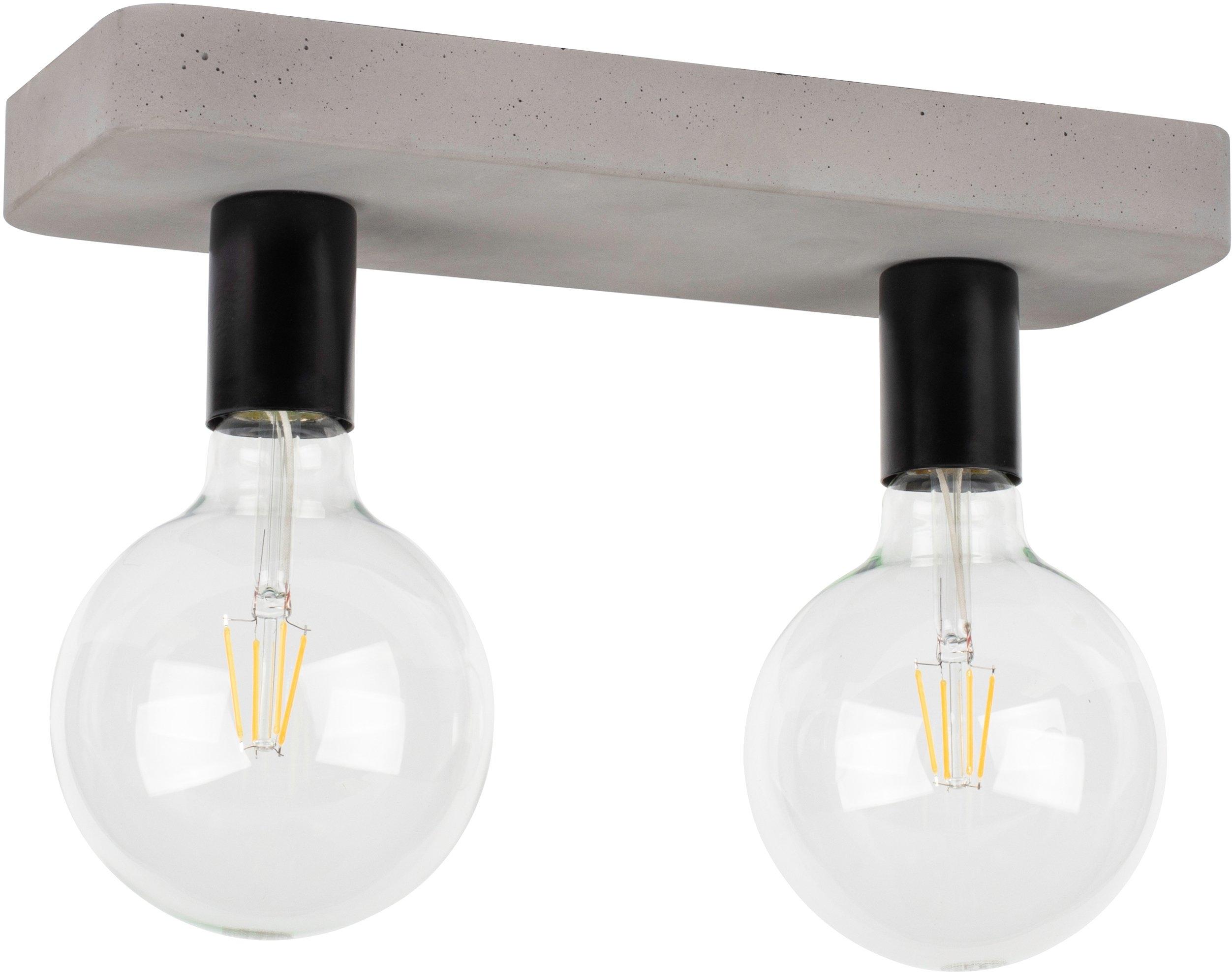 SPOT Light plafondlamp Voortaan Echt beton - met de hand gemaakt, natuurproduct - duurzaam, ideaal voor vintage-lampen, Made in Europe (1 stuk) in de webshop van OTTO kopen