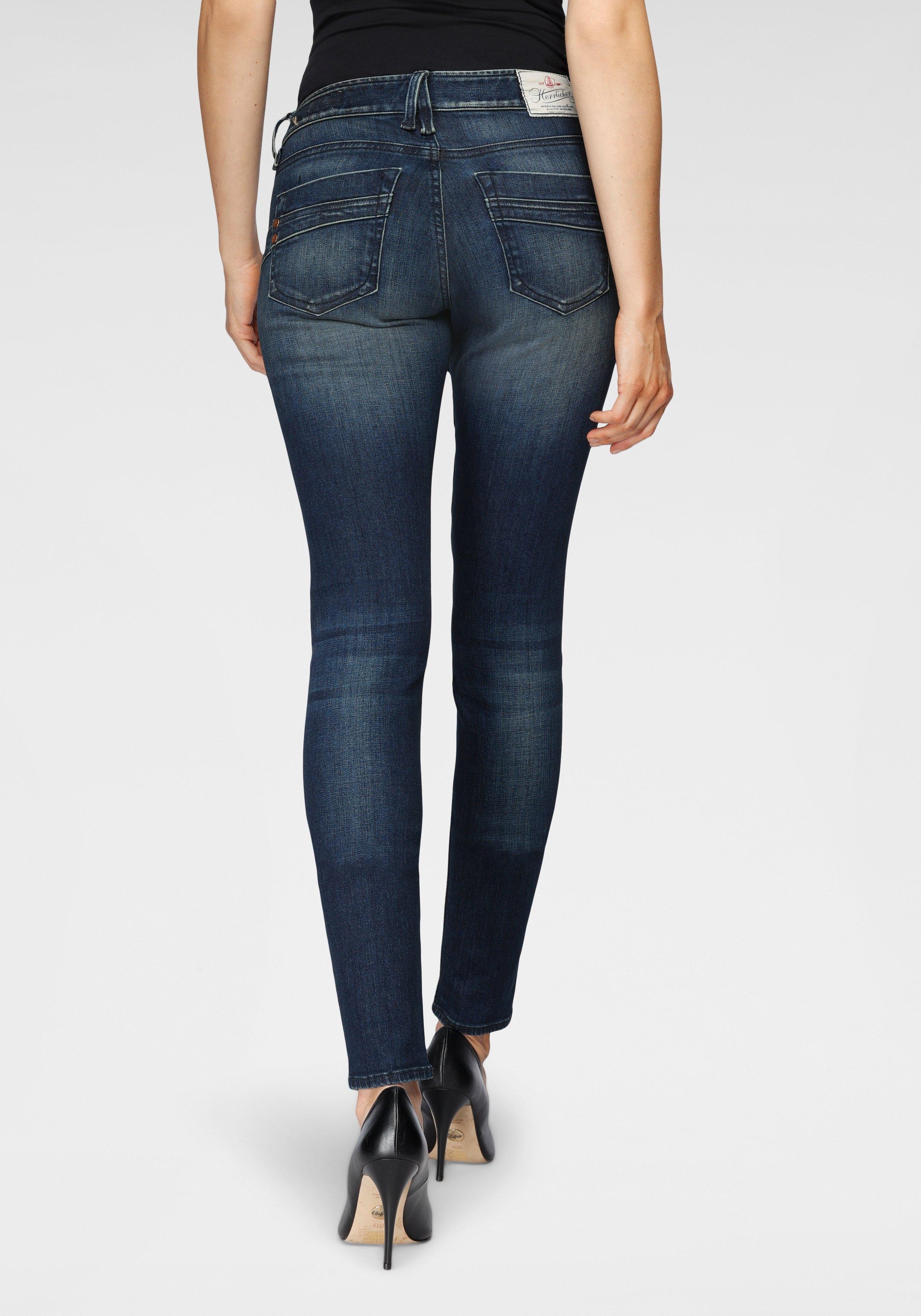 Herrlicher slim fit jeans TOUCH SLIM ORGANIC milieuvriendelijk dankzij kitotex technology nu online kopen bij OTTO