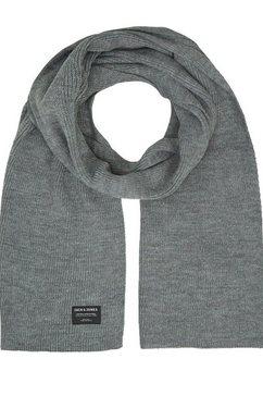 jack  jones gebreide sjaal grijs